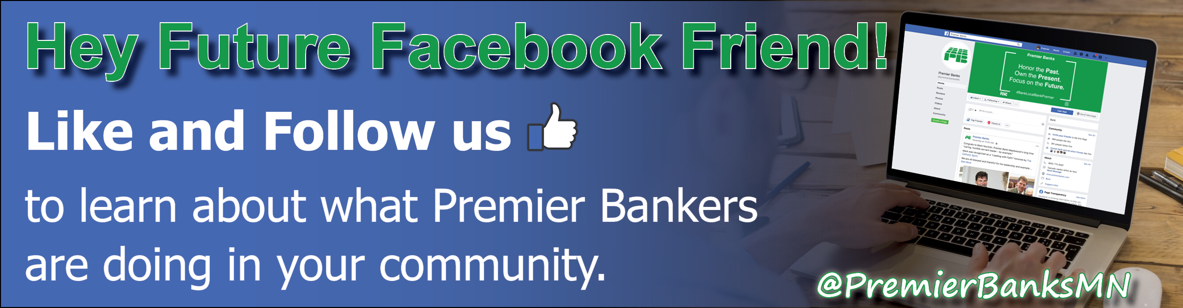 Premier Banks, Local Business Community Bank Offers Mobile