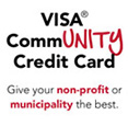 Visa® CommUNITY Credit Card. Give your non-profit or municipality the best.